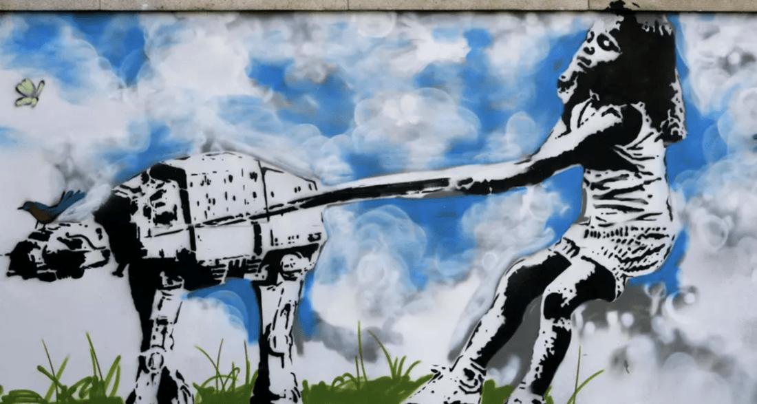 Banksy mania, una stupenda follia