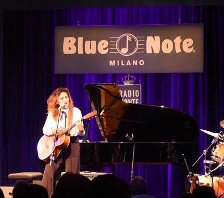 Chiara Civello e un'Eclipse al Blue Note